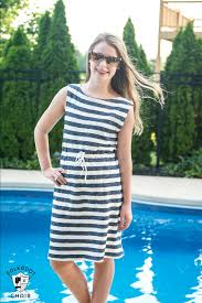 Sundress Patterns Cool Super Simple Swimsuit Cover Up Sewing Tutorial The Polka Dot Chair