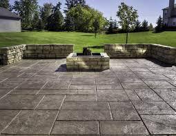cost of concrete patio per sq ft ideas