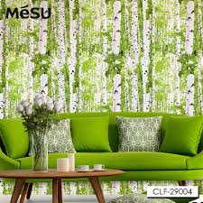 Tree Design Wallpaper Living Room Aliexpresscom Buy 2015 New Birch Tree Design Textile Wallpapers