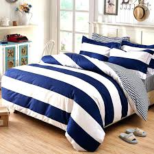 navy blue stripe quilt rugby stripe bedding blue striped bedding sets deep and white boys rugby