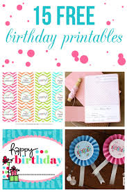 free happy birthday template 15 free birthday printables i heart nap time