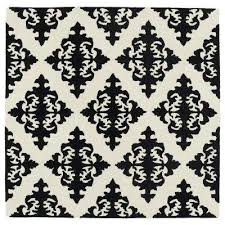 evolution black 12 ft x 12 ft square area rug