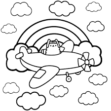 Printable Pusheen Cat Coloring Pages 37 For Girls Free Printable