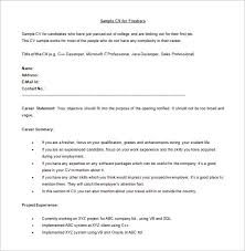 Free Java Developer Resume for Freshers Word Download