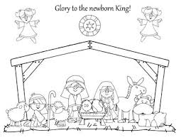 Small Picture Nativity coloring pages How great are these My daughter would