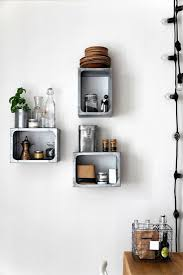 Small Picture Boxed Kitchen Wall Shelves