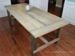 rustic dining table diy. Farmhouse Table Diy Rustic Dining Table Diy