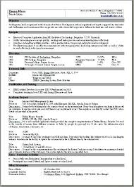 One Page Resume Sample One Page Resume Template Multiple Page Resume ...