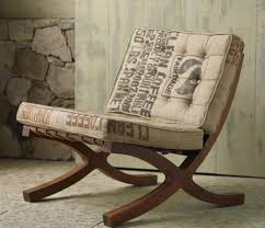eco chic furniture. Furniture: Recycled Sack Chair With Wooden Frame Eco Chic Furniture R