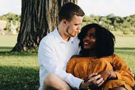 Images of interracial couples
