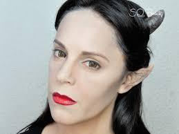 maquillaje maléfica de angelina jolie con gotymakeup3
