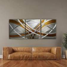 abstract metal wall art modern metal