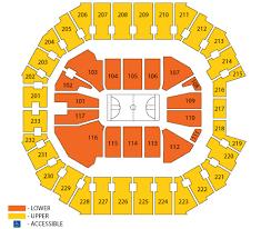 Breakdown Of The Spectrum Center Seating Chart Charlotte