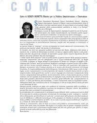 Saluto di RENATO BRUNETTA Ministro per la Pubblica Amministrazione e  l'Innovazione