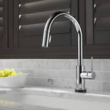 Delta Touch2o Kitchen Faucet Delta Trinsicar Kitchen Single Handle Pull Down Standard Kitchen