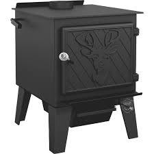 drolet black stag high efficiency wood stove 90 000 btu epa certified model