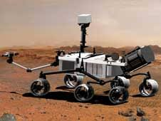 nasa   nasa selects students entry as new mars rover name artist concept of mars science laboratory