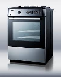 stove 24 inch. summit pro24g 24 inch sealed burners stainless steel with black cabinet slide in gas range stove