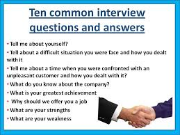 what is your weakness interview question 10 of the most common interview questions asie personnel