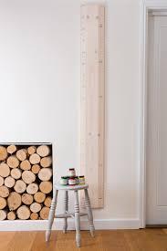 Wooden Height Chart Rainbow Ruler Height Chart Putty