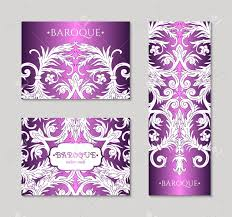 Fancy Designs For Cards French Baroque Style Elegant Ornate Visiting Cards
