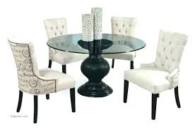 full size of 42 round glass top pedestal dining table oval wood winged griffin cast stone