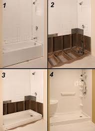 Bathtub to shower conversion pictures Walk Tub To Shower Conversion Pinterest Tub To Shower Conversion Bath Pinterest Bathroom Tub To
