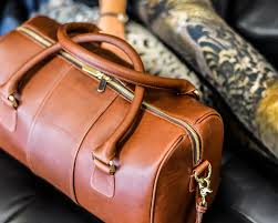 american made leather travel bags