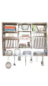 Kitchen Rack Buy Rbj Gloss Finish Stainless Steel Kitchen Rack 30x42 Online At