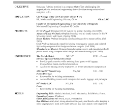 Resume For Architecture Job Application Middot Resume Examples Job Format Downloadf With 44