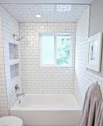 bathroom subway tile ideas. 29 White Subway Tile Tub Surround Ideas And Pictures Bathroom G