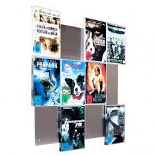stainless steel design dvd storage system