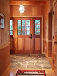 rustic entry by battle associates architects