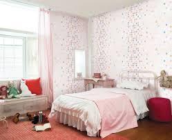 Pink White Girls Bedroom