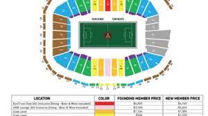 Seating Chart Of Mercedes Benz Stadium Atlanta Mercedes Benz Stadium Online Charts Collection
