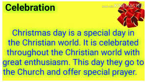 Christmas Day Essay Christmas Day Essay In English Essay On Christmas Day