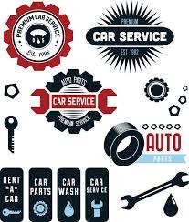 auto mechanic logo vector. Perfect Logo Car Service Repair Shop Set Vector Auto Logos Badge Logo  Business For Mechanic Logo Vector