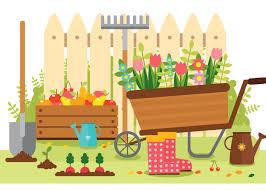 Image result for summer gardening images clip art