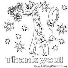 Pleasurable Thank You Coloring Sheets Teacher Sheet Pages As Well
