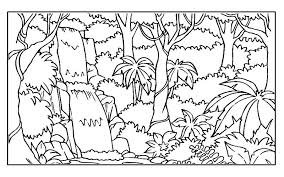 Small Picture Rainforest Coloring Pages Endangered Species Gekimoe 38838