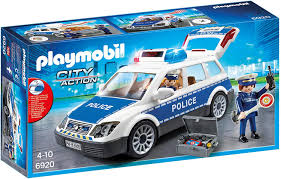 Playmobil City Action Police Van With Lights And Sound 6043 Playmobil City Action 6920 Police Car With Light And Sound Effects For Children Ages 5