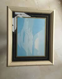 how to transform a picture frame into a tray repurpose an old picture via
