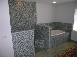 Bathroom Design: New Bathtub Surrounds With Granite And Tile Floor ...