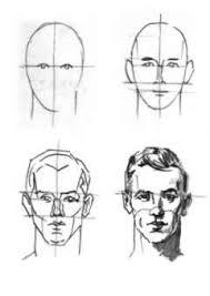 Billedresultat for portrettekenen gezicht tekenen