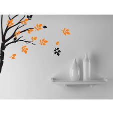 tree wall decal nature home decor wall sticker branch modern wall art decals on home wall arts with tree wall decal nature home decor wall sticker branch modern wall