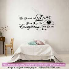 Wall Decal Size Chart Details About Jalaluddin Rumi Wall Sticker Rumi Love Quote Wall Decals Vinyl Home Art Decor D3