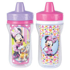 <b>Disney's Minnie Mouse</b> 2-pk. Insulated <b>Cups</b> by <b>Learning</b> Curve ...