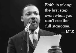 Wise Words MLK Sums Up The Definition Of Faith 'Sweet Quotes Custom Famous Mlk Quotes