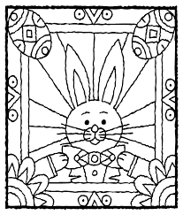 Small Picture Easter Bunny with Eggs crayolacomau