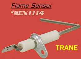 trane sen01114 flame sensor. power from the unit you are resetting control board a few things to check · trane presents measuring flame sensor sen01114 g